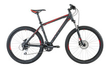 Cube Aim Disc 26  Mountainbike grijs/rood